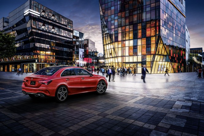 Mercedes-Benz A-Class có thêm bản Sedan, chỉ bán tại Trung Quốc ảnh 6