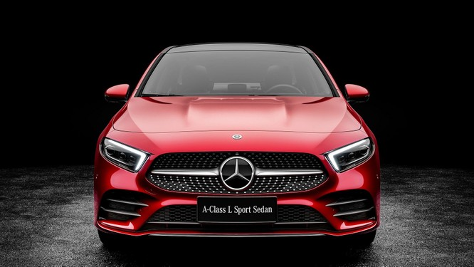 Mercedes-Benz A-Class có thêm bản Sedan, chỉ bán tại Trung Quốc ảnh 8