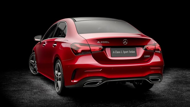 Mercedes-Benz A-Class có thêm bản Sedan, chỉ bán tại Trung Quốc ảnh 9