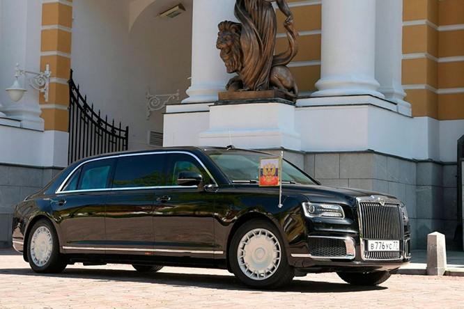 Khám phá chiếc Limousine mới của Tổng thống Nga Putin trong ngày lễ nhậm chức ảnh 3