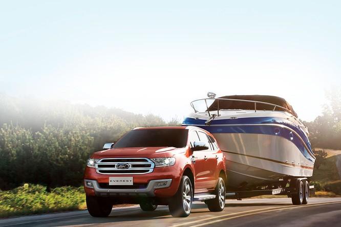 Ford Everest 2019 sẽ có động cơ TwinTurbo Diesel và hộp số 10 cấp của Ranger Raptor ảnh 2