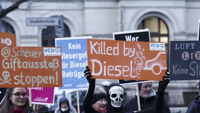 Những xe chạy Diesel chuẩn Euro 4 sẽ bị cấm ở Đức ảnh 1