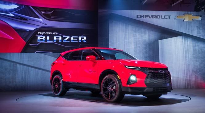 Phân khúc SUV ngày càng nóng, Chevrolet quyết định hồi sinh Blazer ảnh 1