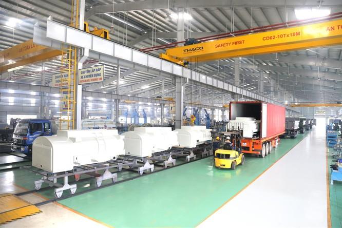 Thaco xuất khẩu bồn nhiên liệu 3.000 lít sang Hàn Quốc ảnh 2