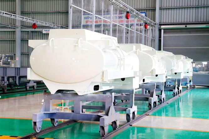 Thaco xuất khẩu bồn nhiên liệu 3.000 lít sang Hàn Quốc ảnh 1