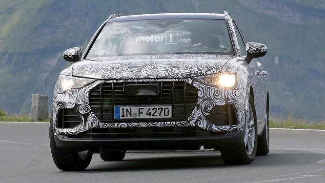 Audi Q3 2019 thế hệ mới chuẩn bị trình làng ảnh 3