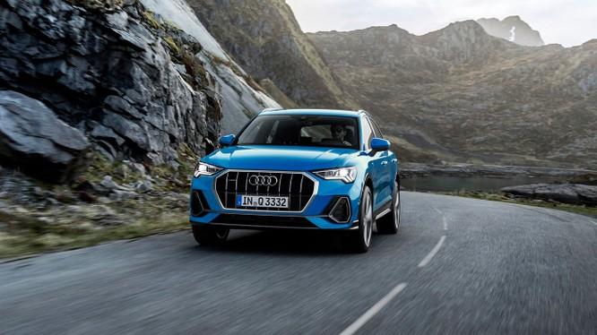 Lộ diện Audi Q3 2019, to hơn, mạnh hơn ảnh 1