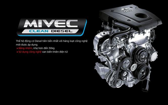 Mitsubishi Pajero Sport thêm lựa chọn với bản máy dầu, rẻ hơn 32 triệu so với Toyota Fortuner ảnh 2