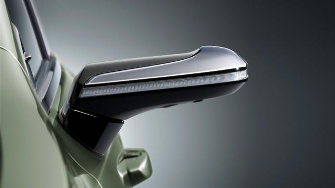 Gương chiếu hậu kỹ thuật số sẽ là trang bị trên Lexus ES 2019 ảnh 1