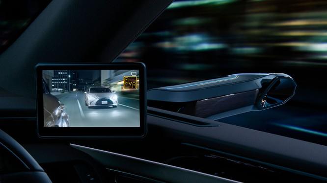 Gương chiếu hậu kỹ thuật số sẽ là trang bị trên Lexus ES 2019 ảnh 4