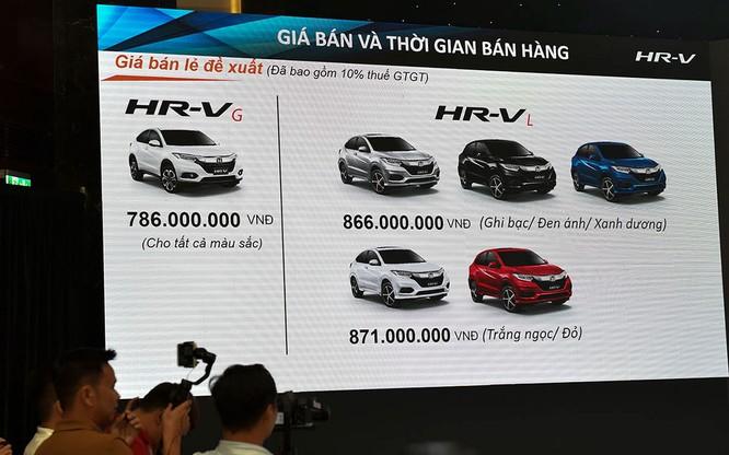 Bỏ qua Ford EcoSport và Hyundai Kona, Honda HR-V sẽ cạnh tranh với các đối thủ nào? ảnh 1
