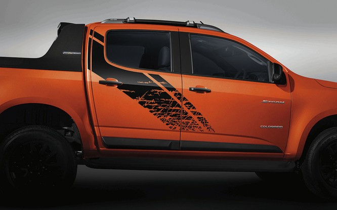Chevrolet Colorado có thêm phiên bản giới hạn Storm, giá bán như bản High Country ảnh 6