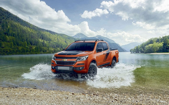 Chevrolet Colorado có thêm phiên bản giới hạn Storm, giá bán như bản High Country ảnh 1