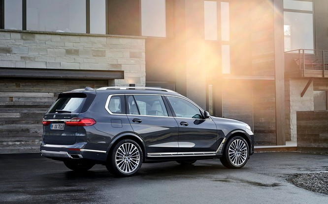 BMW X7 2019 chính thức lộ diện, sang trọng như Rolls-Royce ảnh 2