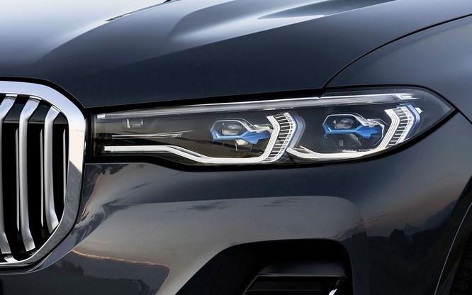 BMW X7 2019 chính thức lộ diện, sang trọng như Rolls-Royce ảnh 12