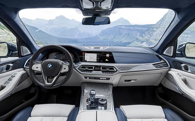 BMW X7 2019 chính thức lộ diện, sang trọng như Rolls-Royce ảnh 4