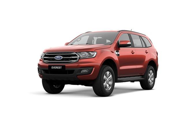 """Ford Ranger và Everest được bổ sung phiên bản tiêu chuẩn, giá """"mềm"""" hơn ảnh 1"""