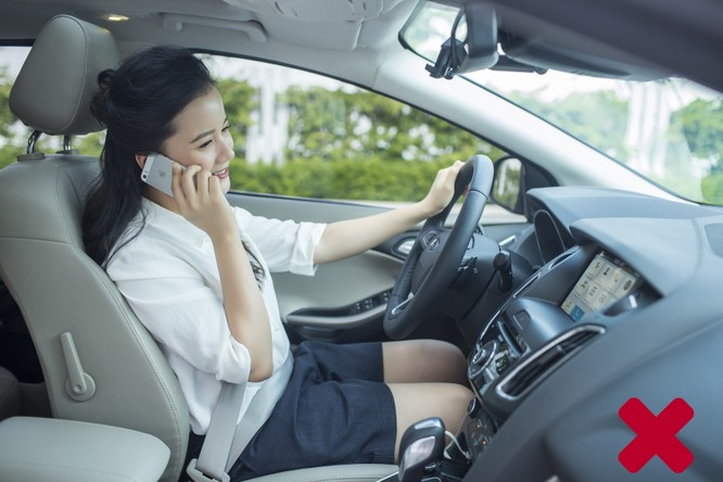 Nếu đang lái xe, xin đừng nhắn tin! ảnh 3