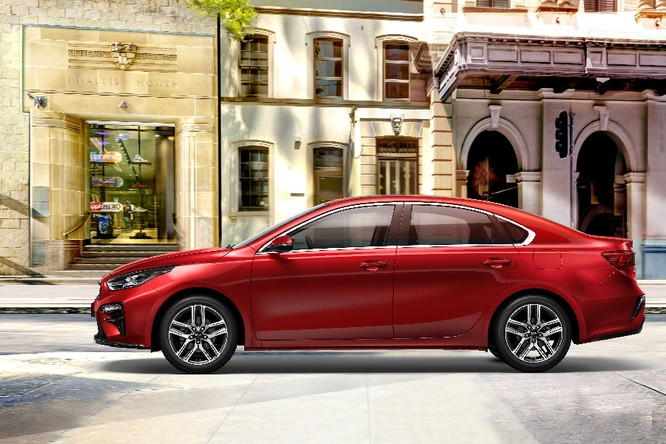 Kia Cerato 2019 đã có giá chính thức, khởi điểm 559 triệu đồng, thêm phiên bản 1.6AT ảnh 1