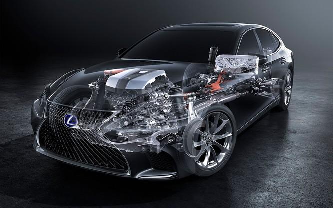 Bộ đôi Lexus LS 500 và LS 500h vừa ra mắt tại Việt Nam có gì đáng chú ý? ảnh 4