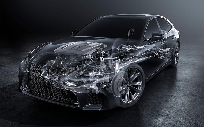 Bộ đôi Lexus LS 500 và LS 500h vừa ra mắt tại Việt Nam có gì đáng chú ý? ảnh 5