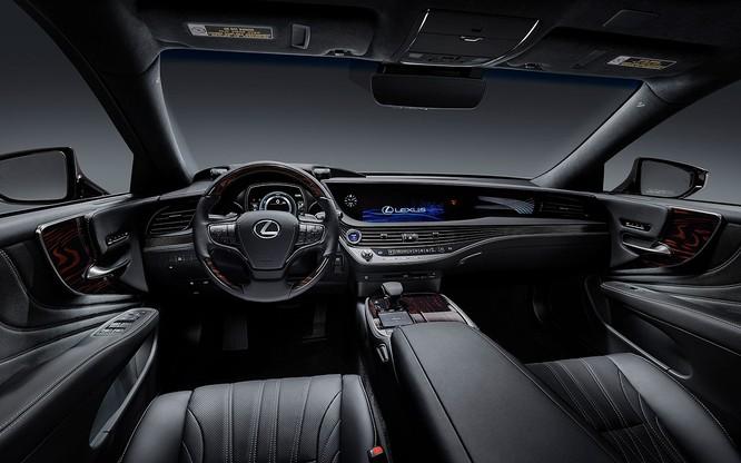 Bộ đôi Lexus LS 500 và LS 500h vừa ra mắt tại Việt Nam có gì đáng chú ý? ảnh 3