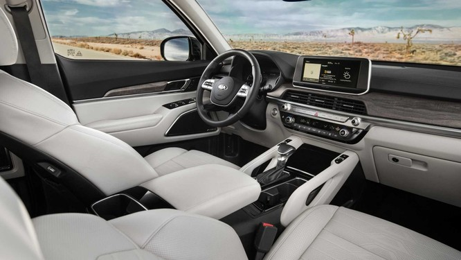 Kia Telluride 2020: Một biến thể của Hyundai Palisade ảnh 3