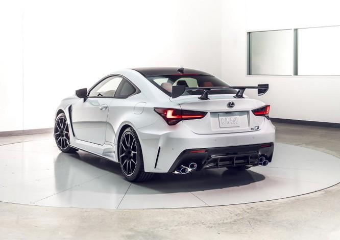 Lexus tái định nghĩa dòng RC F 2020 bằng phiên bản Track Edition ảnh 13