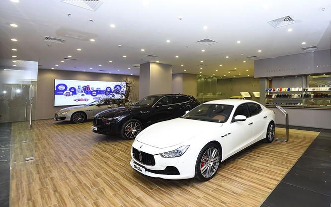 Maserati chọn TTTM Vincom Metropolis làm khu vực trưng bày thứ 3 tại Hà Nội ảnh 1