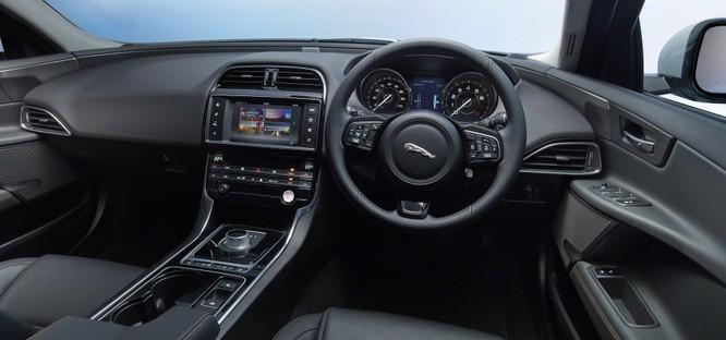 Jaguar XE mới và cũ: Hãy xem những khác biệt! ảnh 8