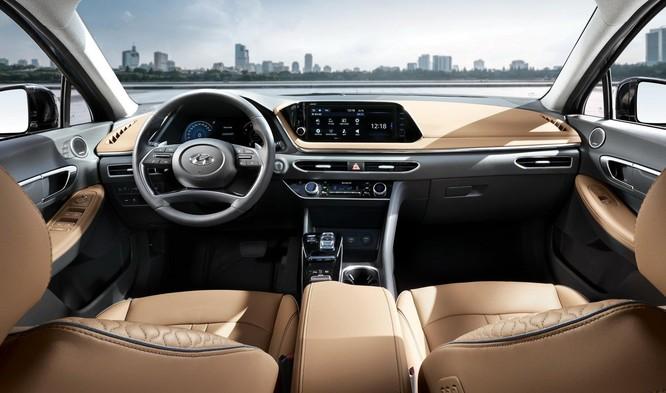 Hyundai Sonata 2020 lộ diện hoàn toàn, đậm phong cách Coupe Sedan ảnh 5
