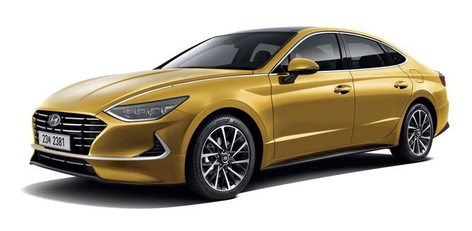 Hyundai Sonata 2020 lộ diện hoàn toàn, đậm phong cách Coupe Sedan ảnh 3