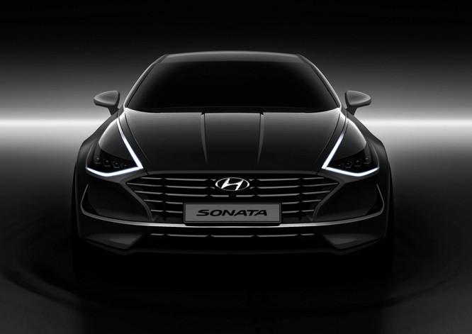 Hyundai Sonata 2020 lộ diện hoàn toàn, đậm phong cách Coupe Sedan ảnh 1