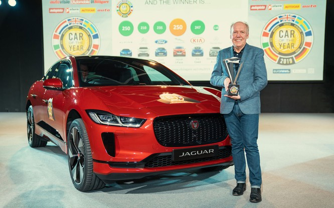 Jaguar I-Pace giành giải thưởng xe của năm tại châu Âu 2019 ảnh 2