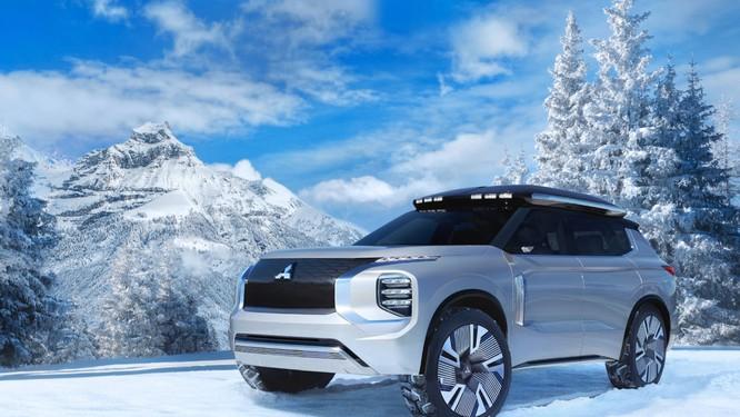 Mitsubishi Engelberg Tourer concept: Chiếc PHEV có khả năng Offroad ảnh 3