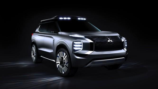 Mitsubishi Engelberg Tourer concept: Chiếc PHEV có khả năng Offroad ảnh 1