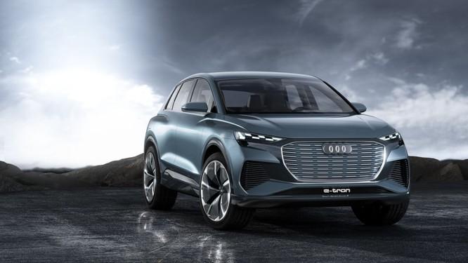 Audi Q4 E-Tron concept được giới thiệu tại Geneva Motor Show 2019