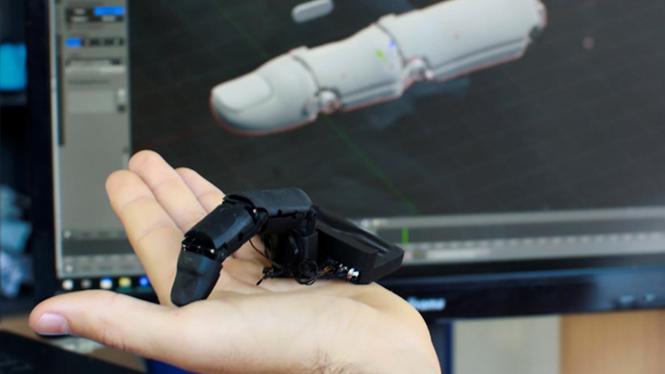 Độc lạ và đáng sợ robot… ngón tay - ảnh 4