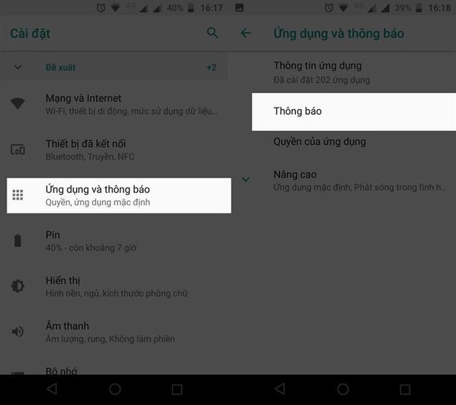 Cách ẩn thông báo tin nhắn để tránh lộ nội dung nhạy cảm trên smartphone ảnh 3