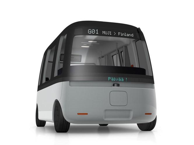 Hãng bán lẻ Nhật Bản phát triển xe buýt tự lái phong cách tối giản - ảnh 2