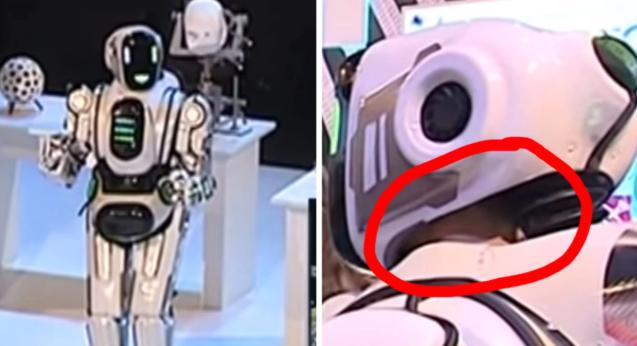 Siêu robot của Nga bị tố là đồ giả - ảnh 1