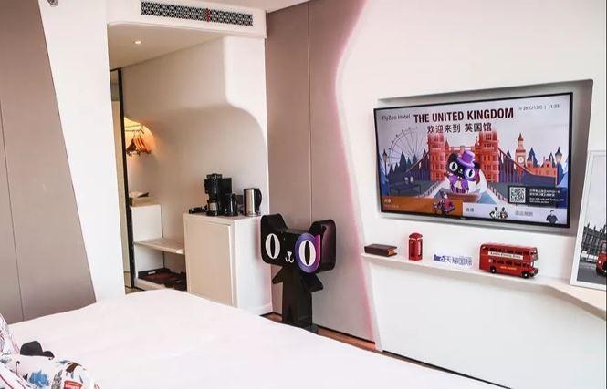 AI khách sạn Alibaba robot - ảnh 2