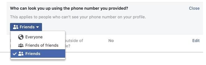 Số điện thoại của bạn không thực sự riêng tư trên Facebook