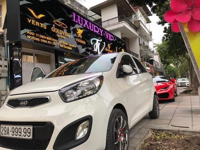Đại gia Hà Nội chi hơn 2 tỷ mua Kia Morning biển ngũ quý 9
