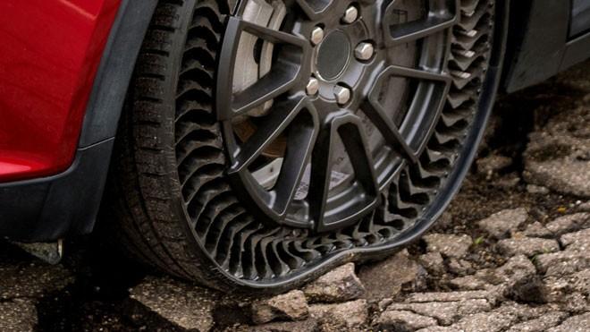 Lốp không cần bơm khí sẽ là tiêu chuẩn của ô tô trong tương lai ảnh 1