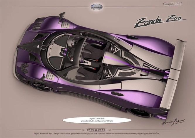 """Pagani """"tái sinh"""" dòng siêu xe cũ để bán cho các đại gia ảnh 3"""