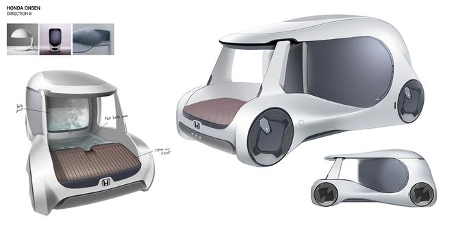 Xe hơi trong tương lai lắp cả bồn tắm bên trong? ảnh 1