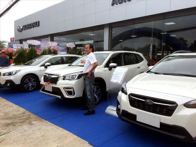 Subaru chính thức chen chân vào thị trường xe tầm trung tại Miền Tây ảnh 1