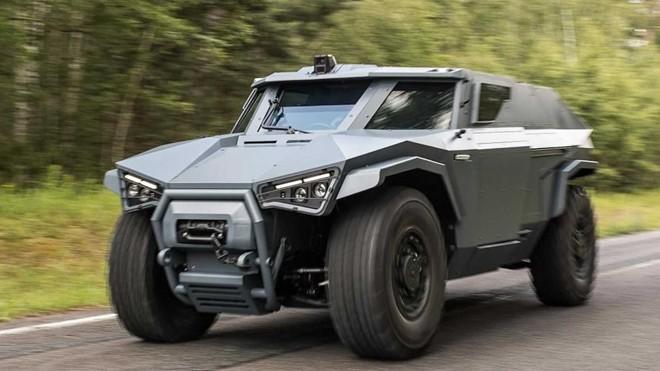 Volvo chế tạo xe quân sự có thể… đi ngang ảnh 1
