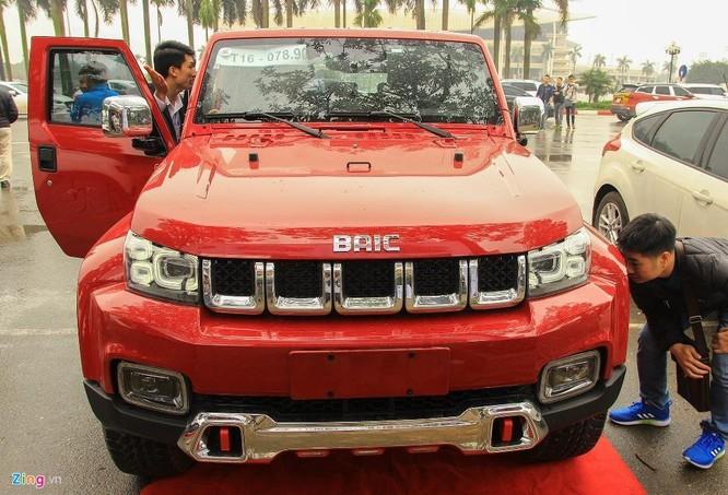 Ôtô Trung Quốc ở VN - giá rẻ, thiết kế chắp vá xe sang ảnh 9